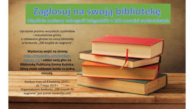 200 książek do wygrania