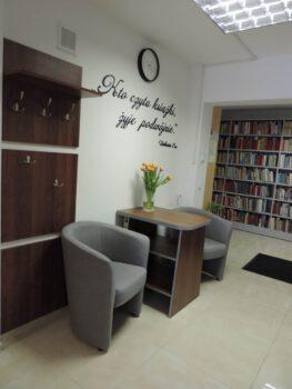 pomieszczenie biblioteki